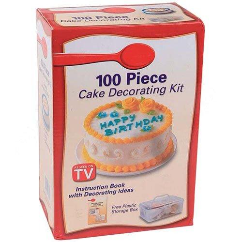 100 Piece Cake Decorating Kit Groupon : 100 stuks decoreren kit voor taart cupcakes cookies ...