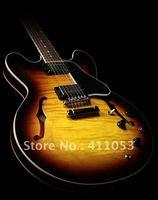 hot Musical Instruments Custom Shop 335 Dot Reissue Figured, Gloss Vintage Sunburst