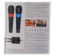 PEGA 4-in-1 Universal USB Karaoke Microphones for Wii, PS3, PS2 and Xbox 360 (2-Pack)