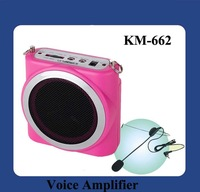 DHL Free Shipping Voice Amplifier Speaker 16W Portable KM-662 Black and White