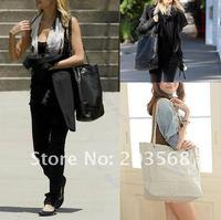 D19+Celebrity Women Simple Style Leather Shoulder Rhombus Chain Shopping Handbag Bag