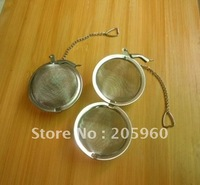Free Shipping  Wholesale_ (50 pcs/lot) Stainless steel tea infuser/tea strainer/tea ball