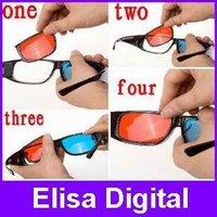 3D glasses 3 sets lens /3d glasses for myopia and normal vision /Plastic Framed 3D glasses,RY9012