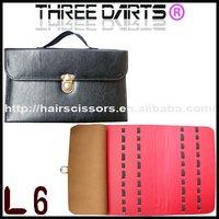 Scissors sales professional scissors carrying case / leather pouch (hold 20 pcs scissors)