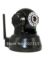 2pcs/l ot  Wireless  IP Camera,With 802.11 WIFI,1/4&amp;quot; CMOS sensor  Visited by Cell phone freeshipping