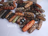Free shipping!!!Bulk 15piece Mixed size and design Dzi Bead jewelry making tibet agate dzi bead