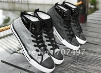 Мужские кроссовки Avoid shipping costs! Man canvas shoes fashion leisure shoes han edition men's shoes