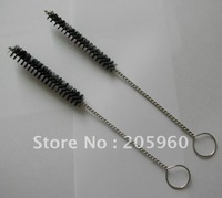 Free shipping - wholesale( 100pcs/lot )  1/2-inch  glass straw cleaning brush/straw cleaner for baby sippy cups -17cm length