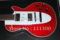 Custom Shop guitar Corvette guitar in light green red in stock free ship