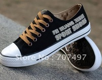 Avoid shipping costs! Man canvas shoes fashion leisure shoes han edition men's shoes