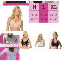 1pack 3pcs Ahh Bra Sexy Bra women bra yoga bra Slimming Underwear Breast Massage Seamless Outlining Your Figure  100pcs/lot