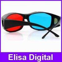 3D glasses/ Red cyan blue Plastic Framed 3D Dimensional 3D glasses,RY9015