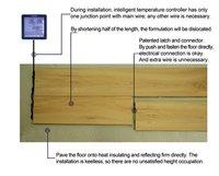 2012 new Electric warm floor/Warm-core floor /Engineered wood flooring