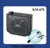DHL Free Shipping KM-675 Most advanced USB sound louspeaker with plug-in card and remote control