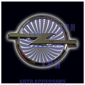 lastest type,car logo light for Opel ,car badge light,auto led light,auto emblem led lamp