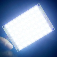 DC 12V Ultra Bright 48 Piranha LED Light Board Energy-Saving Night Lamp Lights