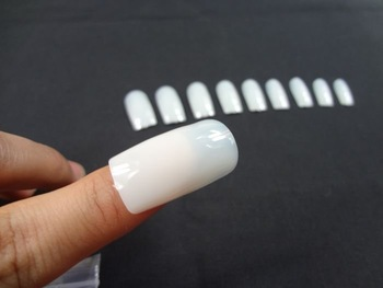 500pcs/lot Free Shipping Artificial Nails. Artificial Fingernail. Natural Color.