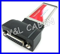 Printer DB25 DB26 Parallel Port Device LPT to ExpressCard Express Card 34 34mm Adapter Converter, Prolific PL2305, Free Shipping