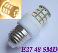 E27 48 SMD 1210 LED Light Lamp Bulb Warm White 220-240V