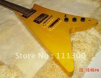 2011 new G custom guitar V-type electric guitar gold