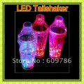 LED ice Fat  LED flash Martin shaker  LED Tailshaker Cocktail shaker Bar Accessories Pub Accessories Romatic