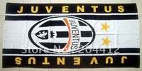 JUVENTUS FC SOCCER BIG WASHCLOTH BEACH BATH TOWEL #2