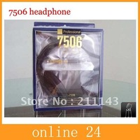 free shipping High Quality 7506 headphones DJ Headphones