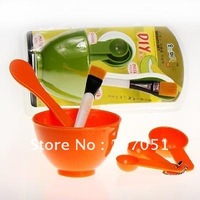 free shipping 4 IN1 four one beauty series (mask bowl/great/brush/quantity spoon) DIY abstains mask appliance combination