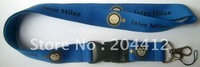 INTER MILAN FC SOCCER PHONE STRAP NECK LANYARD blue #23