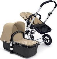 Free shippment,Discount promotion  new bugaboo prams cameleon denim fabric baby stroller