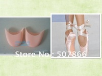 Free Shopping -New Ladies Professional Ballet Dance Pointe Shoes + Silicone Gel Toe Pads