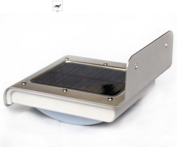 Motion Detection PIR Solar Powered Wall Lamp 16 LEDs