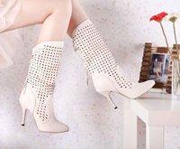 на новый сексуальный серый Боути замши faux середины икры сапоги девушки на высоких каблуках зимняя обувь lly-668-1