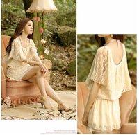 "New fashion Bohemia style cotton colorful striped maxi dress ,women""s dress,skirt"