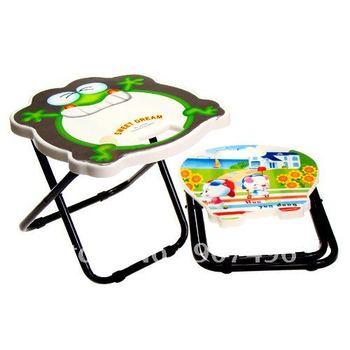 Free shipping, HOT selling!The Cartoon portable folding stool ,stool ,Retail&Wholesale,randomly cartoon