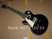 Wholesale -  most popular left hand black electric guitar Free shipping