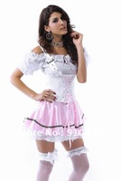 Wholesale!FREE SHIPPING!(10pieces) 100% Brand New Women's Sexy lingerie,Sexy Costumes,Bavarian Beauty Costume,SL8494