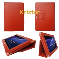 Stand PU Leather Case for Samsung Galaxy Tab 8.9 inch P7300, Free Shipping