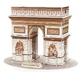 2012 new fashion famous architecture triumphal arch shape 3D puzzle kids toy good gift  freeshipping wholesale 2PCS/LOT
