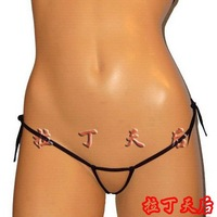 sexy lingerie  two belt lacing of transparent T mini pants average size FREE SHIPPING!