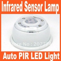 Auto PIR LED Light Infrared Sensor Motion Detector Lamp Free Shipping