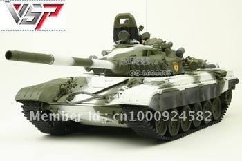 Vstank Russian T72M1 tank with machine gun sound lights and shooting BB toy tanks