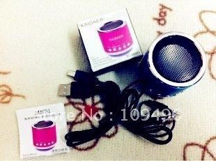 Mini Speaker TF card\MP3\USB Player Speakers KAIDAER Stereo Heavy Bass Speakers