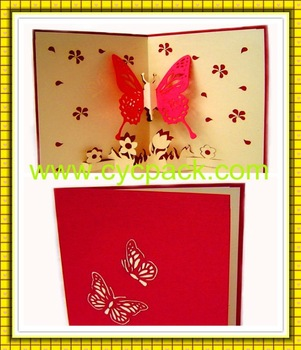 Butterfly Wedding Invitation Cards