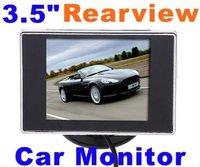 3.5 inch HD Car monitor Car Color TFT LCD Monitor Rearview DVD w/ PAL/NTSC Car reversing camera Car video