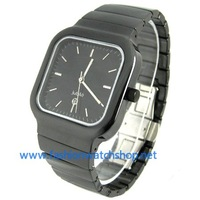 New Black Ceramic Sapphire Crystal Mens r5.5 Quartz Watch Fashion Noble Gift 0286