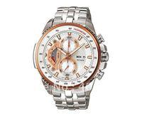 New Waterproof  Wristwatch > Limited edition EF-558-7AV Chronograph quartz sport men's watches stainless steel watch