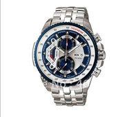 New Waterproof  Wristwatch >  EF-558-2AV Chronograph quartz sport men's watches stainless steel watch