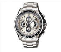 New Waterproof  Wristwatch > Classic EF-506-7AV Chronograph quartz sport men's watches stainless steel watch