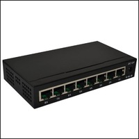8 Ports   10/100Mbps   Network Switch